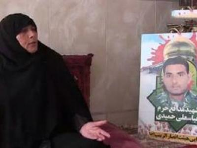تصویر از فیلم/ مادر شهید: جنگ غیرت میخواهد