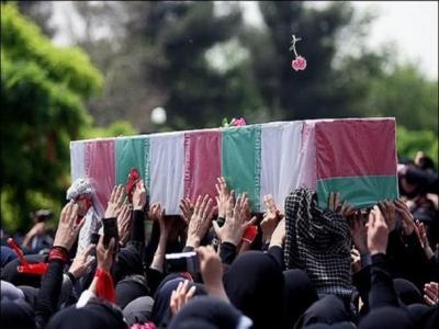 تصویر از جزئیات مراسم تشییع دو شهید جدید مدافع حرم گیلانی