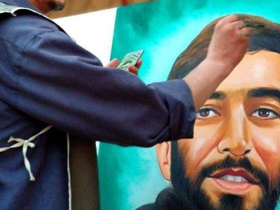 تصویر از مشق ارادت در اربعین حسینی/ موکبی برای هنرمندان جهان اسلام