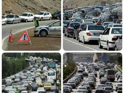 تصویر از ترافیک گلوی کرج را می فشارد