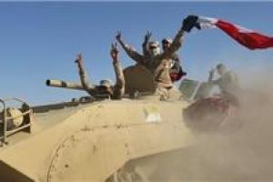 تصویر از شهر «راوه» در عراق به طور کامل آزاد شد