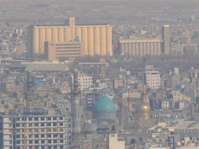 تصویر از آلودگی هوا همچنان گریبانگیر کلانشهر مشهد
