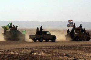 تصویر از پیشرویهای ارتش عراق در غرب رمادی