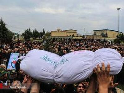 تصویر از عکس/ تشییع شهید حبیب الله اسلامی در بیله سوار