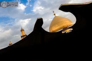 تصویر از تصاویر زیبا از گنبد حرم امام علی(ع)
