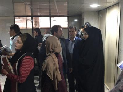 تصویر از بازدید سر زده استاندار از کلینیک شهید مفتح یاسوج