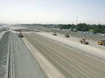 تصویر از همتی برای باز شدن گره ترافیک گذرگاه اصلی شمال و غرب کشور