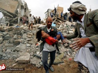 تصویر از تصاویر تکاندهنده عکاس آمریکایی از جنگ یمن