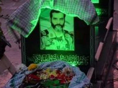 تصویر از گزارش تصویری مراسم بزرگداشت شهید مدافع حرم «حسن اکبری»