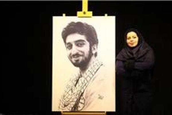 تصویر از فرخنژاد: برق نور چشمان شهید حججی انگیزهام برای طراحی بود