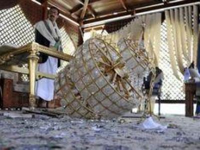 تصویر از کشف طلا و نقره از کاخ علی عبدالله صالح