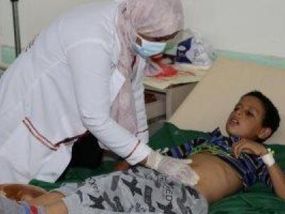 """تصویر از مرگ و میر نزدیک به ۵۰ یمنی بر اثر ابتلا به """"دیفتری"""""""