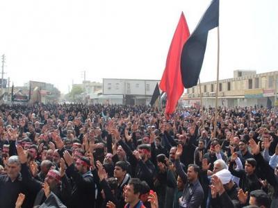 تصویر از تجمع بزرگ فاطمیون در برازجان برگزار شد + تصاویر