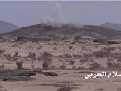 تصویر از تسلط ارتش یمن بر مناطق استراتژیک استان الجوف