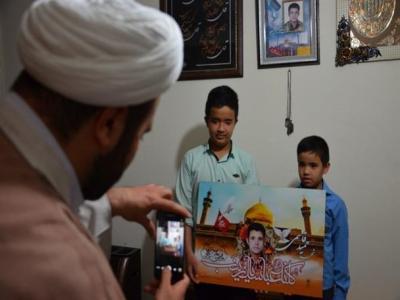 تصویر از همسرم آگاهانه به استقبال شهادت رفت/ حمید همیشه میگفت حرم حضرت زینب حال و هوای دیگری دارد