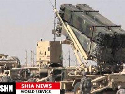 تصویر از انهدام سامانه موشکی پاتریوت عربستان توسط یمن