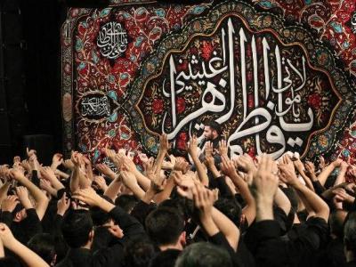 تصویر از اصفهان؛ در ماتم و عزای ام ابیها سوگوار شد