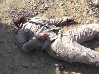 تصویر از ۷ نظامی سعودی در مرز یمن کشته شدند