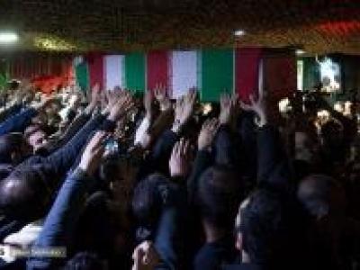 تصویر از مراسم وداع با پیکر شهید مدافع حرم سیداحسان میرسیار