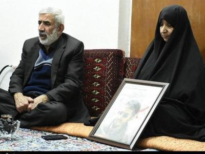 تصویر از ساری| مدافع حرمی که خبر شهادتش را به مادرش اعلام کرد