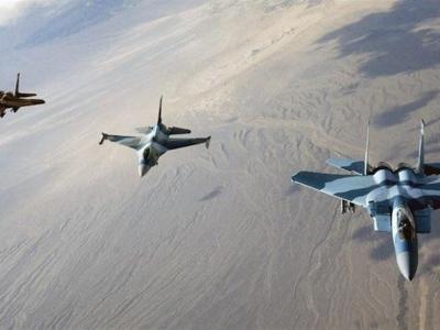 تصویر از ۱۷ شهید در حمله جنگندههای سعودی به صعده در یمن