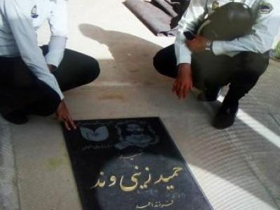 تصویر از خانواده شهداء مایه عزت و افتخار کشور هستند