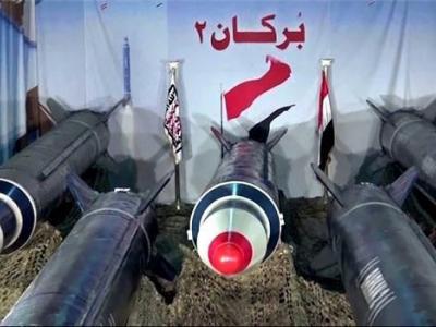 تصویر از شلیک موشکهای بالستیک یمن به سمت فرودگاه بینالمللی ملک خالد شهر ریاض
