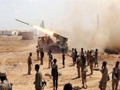 تصویر از حمله یمنیها با موشک بالستیک «بدر ۱» به شرکت آرامکو در عربستان