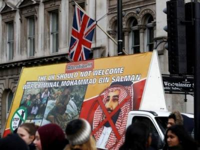 تصویر از انتقادات تند شخصیتهای اپوزیسیون انگلیس از سفر ولیعهد عربستان