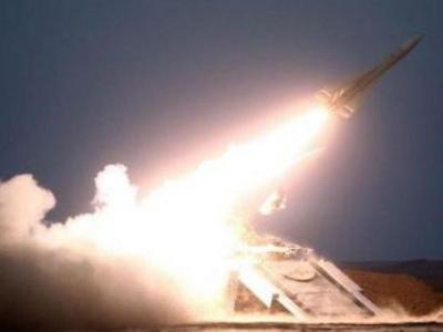 تصویر از عربستان از رهگیری موشک شلیک شده به نجران خبر داد