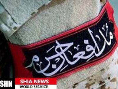 تصویر از تجلیل از قاری شهید طلبه مدافع حرم