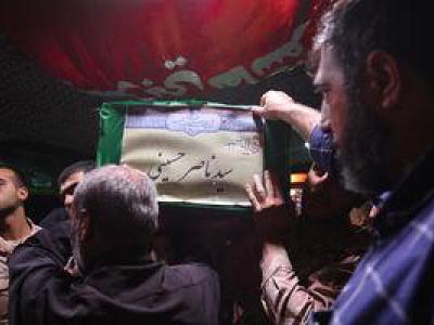 تصویر از عکس/ وداع با شهید تیپ فاطمیون در معراج