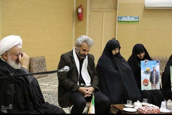تصویر از قم  مراسم تقدیر از خانواده شهید حججی برگزار شد