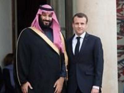 تصویر از جزئیات گفتگوی تلفنی مکرون با بن سلمان