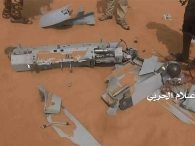 تصویر از تحولات یمن|سرنگونی پهپاد جاسوسی متجاوزان سعودی؛ دفع حملات گسترده مزدوران در سواحل غربی