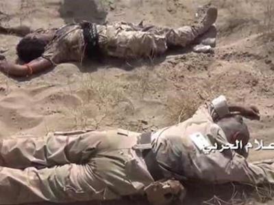 تصویر از تحولات یمن| یک نظامی سعودی در نجران به هلاکت رسید