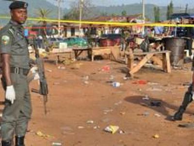 تصویر از کشته شدن ۷۰ نفر در درگیریهای نیجریه