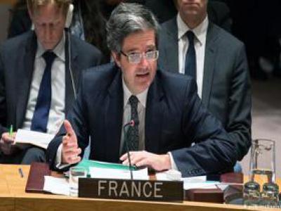 تصویر از نماینده فرانسه در شورای امنیت: پاریس به توافق هستهای ایران پایبند میماند