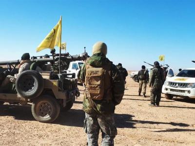 تصویر از شلیک موفق یگان موشکی فاطمیون در سوریه +فیلم