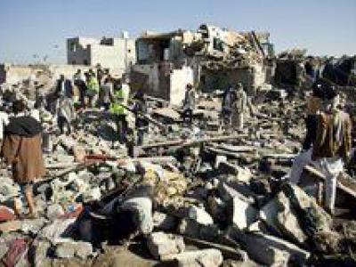 تصویر از فیلم/ شهادت ۴ کودک یمنی در خواب