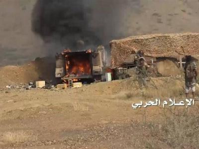 تصویر از تحولات یمن| عملیات غافلگیرکننده علیه مواضع نظامیان سعودی/ جنگندههای عربستان ۳ بار صنعا را بمباران کردند