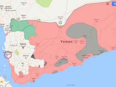 تصویر از تلاش نیروهای ائتلاف عربی برای تسلط بر فرودگاه الحدیده یمن
