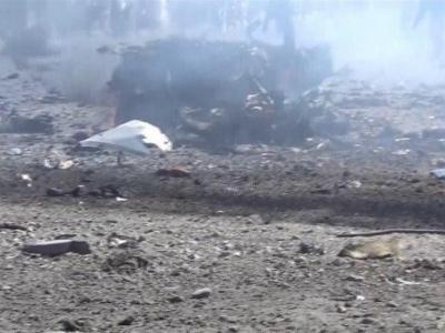 تصویر از تحولات یمن  افزایش آمار قربانیان جنایت سعودیها در عمران/ حمله هوایی به اتوبوس حامل آوارگان در الحدیده