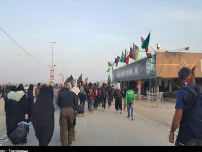 تصویر از اربعین سال گذشته ۴۳ موکب از طرف قم در عراق برپا شد