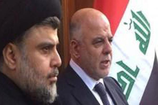 تصویر از مقتدی الصدر و العبادی اعلام ائتلاف کردند