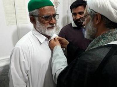 نشان امام رضا (ع) به خانواده شهید مدافع حرم ایرانشهری اهدا شد