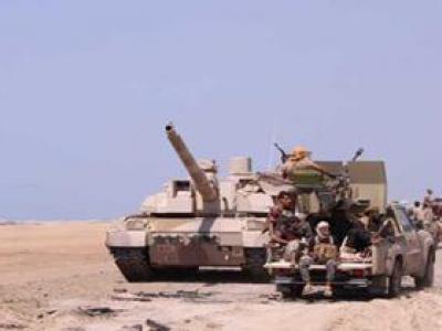 تصویر از گلوله باران مواضع نظامیان سعودی در نجران