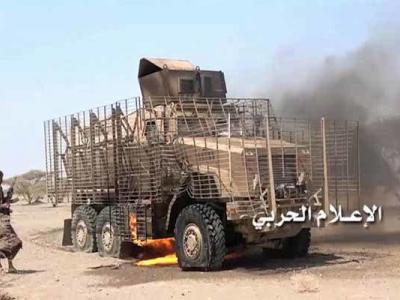 ضربات سنگین یمنی ها به متجاوزان سعودی در جیزان و ساحل غربی یمن
