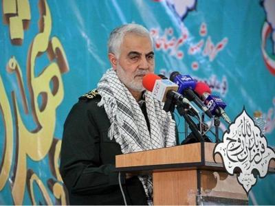 تصویر از واکنش وزیر دفاع آمریکا به سخنان اخیر سردار سلیمانی +فیلم
