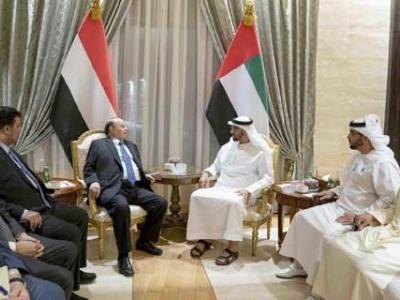 تصویر از امارات عرصه را برای دولت مستعفی یمن تنگ کرده است